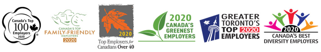 2020 employer award badges